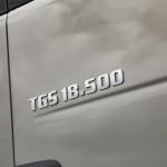 New range of models for the MAN TGS series: The new D26 engine is now rated at 500 HP and delivers maximum torque of 2500 Nm. DE: Neu für die MAN TGS-Baureihe: Der neue D26-Motor leistet nun 500 PS und liefert ein maximales Drehmoment von 2500 Nm. UK: New range of models for the MAN TGS series: The new D26 engine is now rated at 500 HP and delivers maximum torque of 2500 Nm.