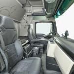 New Alcantara upholstery is offered for the comfort seat. DE: MAN bietet eine neue Alcantara-Ausstattung für den Komfortsitz an. UK: New Alcantara upholstery is offered for the comfort seat.