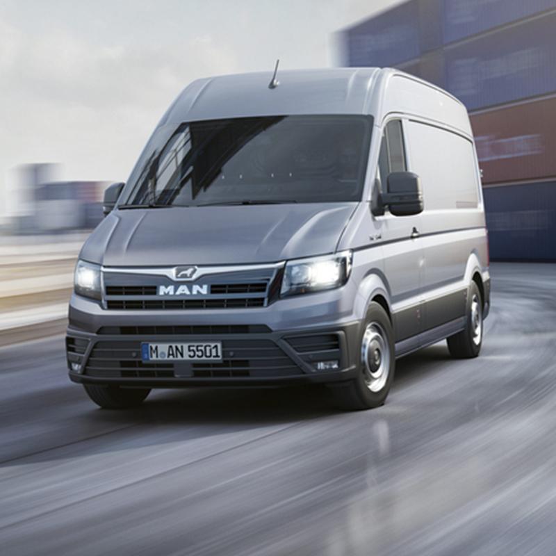 Nuovo TGE: non è semplicemente un Van, è un MAN