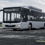 MAN Lion's City CNG – a 11,980 mm long two-axle city bus  DE: MAN Lion's City CNG - zweiachsiger, 11.980 mm langer Stadtlinienbus UK: MAN Lion's City CNG – a 11,980 mm long two-axle city bus