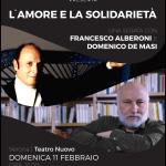 """""""L'amore e la solidarietà"""" locandina"""