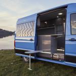 Il MAN Modification Center è in grado di offrire un'ampia scelta di allestimenti personalizzati come, per esempio, questo camper.
