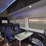 Il MAN Modification Center può offrire numerose soluzioni di trasformazione come questo esempio di van in una navetta vip.