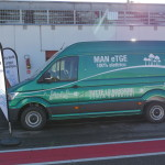 MAN eTGE in autodromo