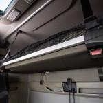 The 7-zone slatted frame in the cabs of the new MAN TG series contributes to healthy lying and sleeping comfort.Der 7-Zonen-Lattenrost in den Fahrerhäusern der neuen MAN TG-Baureihe für trägt zu gesundem Liege- und Schlafkomfort bei.