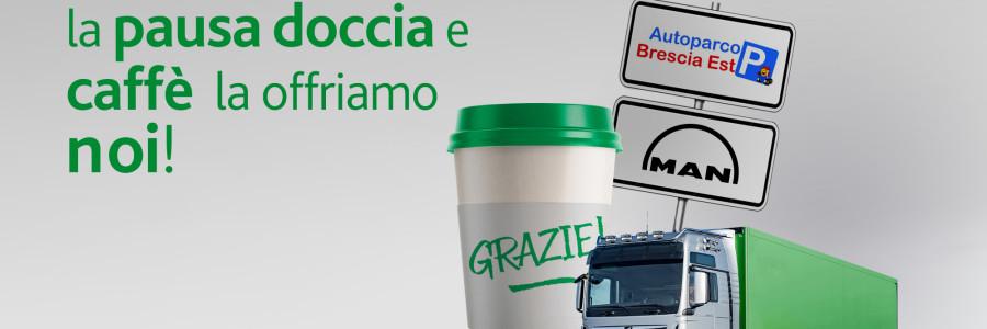 Doccia e caffè MAN