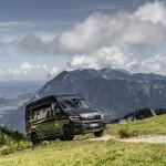 MAN TGE 4x4 scala le Alpi