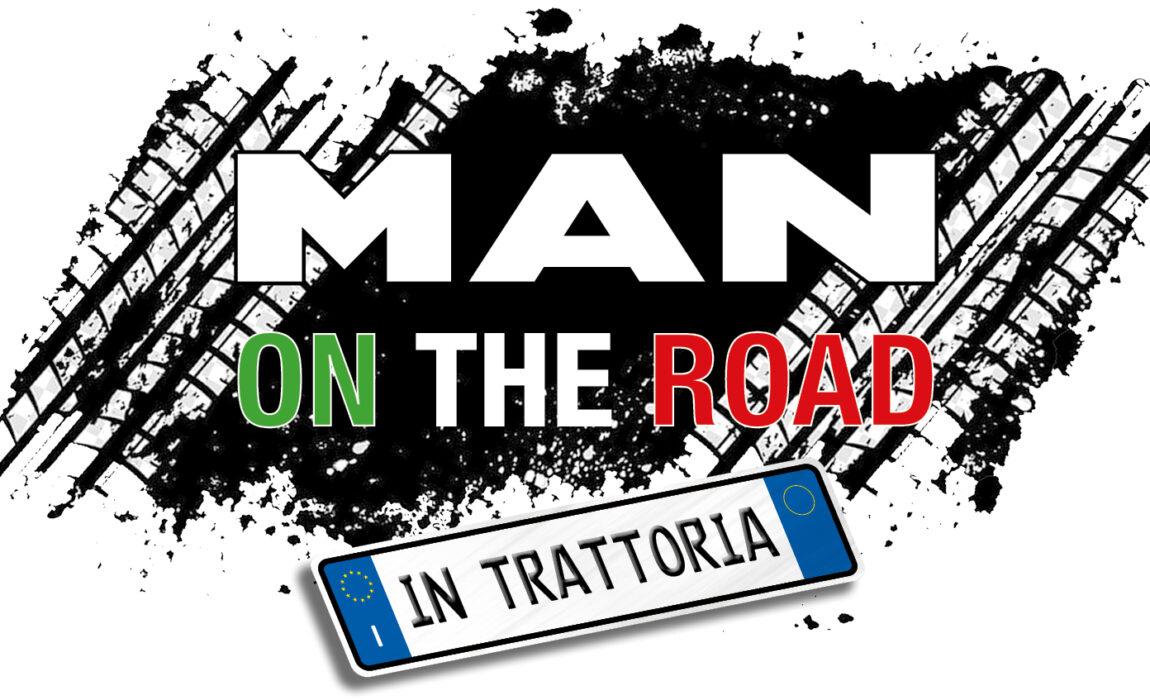 LOGO MAN ONTHE ROAD